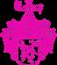 Kreidler-Wappen klein pink